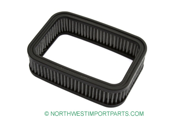 Replacement air filter element for above