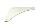 MGB Rear bumper filler plate Left 62-74