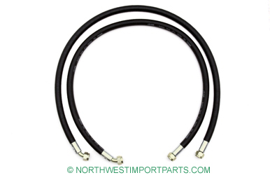 MGB Oil cooler hose set 74.5-80