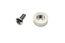 MGB Window winder screw and washer, Chrome 68-80