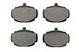 MGB Front brake pad set 62-80