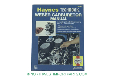 MGA Haynes Weber Carburetor manual 55-62