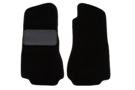 MGB Carpet floor mats, black 68-80