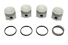 MG Midget Piston set 67-74 .040