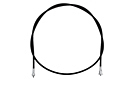 MG Midget Speedometer cable 75-77