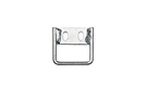 MGB Hood safety catch bracket 62-80