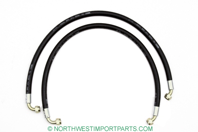 MGB Oil cooler hose set 62-67