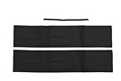 MGB Top rail cover kit 70-76 Black