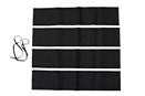 MGBGT Rear top rail cover kit 65-74 Black