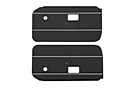 MGB Door panels 70-76 Black, pair