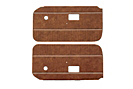 MGB Door panels 70-76 Autumn leaf, pair