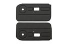 MGB Door panels 77-80 Black, pair