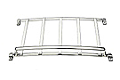 MGB Luggage rack 62-80