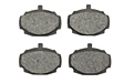 MGB Front brake pad set, semi-metallic 62-80
