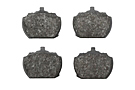 MGB Front brake pad set, oversize ceramic 62-80