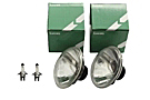 MGB Lucas halogen headlight set 62-80