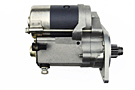 MGB HD gear reduction starter with solenoid 68-80